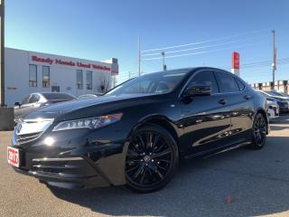 Used 2017 Acura TLX Tech Navi - Leather - Sunroof - Alloy for sale in Mississauga, ON