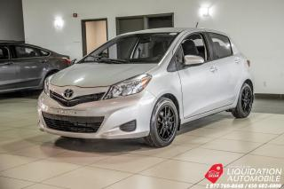 Used 2014 Toyota Yaris LE+GR.ELECTRIQUE+MAGS+AIR for sale in Laval, QC