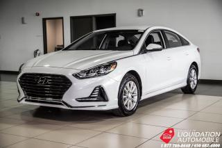 Used 2018 Hyundai Sonata ESSENTIAL+CAM/RECUL+MAGS+SIEG/CHAUFF+BLUETHOOTH for sale in Laval, QC