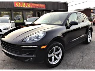 Used 2017 Porsche Macan AWD-TOIT PANORAMIQUE-CAM RECUL 360-BLUETOOTH for sale in Laval, QC