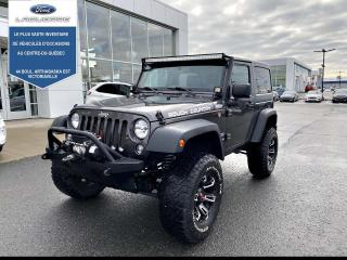 Used 2017 Jeep Wrangler Jeep Wrangler Sport 4x4 for sale in Victoriaville, QC