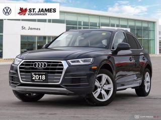 Used 2018 Audi Q5 Technik, One Owner, Apple CarPlay, 360 Camera for sale in Winnipeg, MB