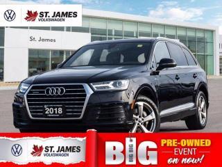 Used 2018 Audi Q7 Progressiv, One Owner, Heated Seats, Apple CarPlay for sale in Winnipeg, MB
