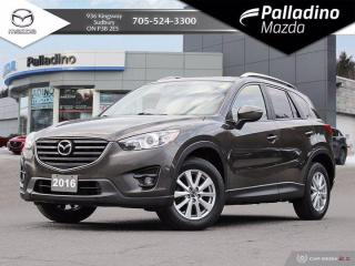 Used 2016 Mazda CX-5 GS - DEALER SERVICED SINCE NEW - BLIND SPOT MONITORING for sale in Sudbury, ON