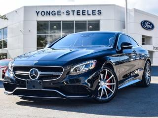 Used 2017 Mercedes-Benz S-Class AMG S 63 for sale in Thornhill, ON