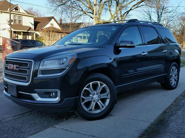 2014 GMC Acadia SLT Htd Leather Quads Pano Roof Locally Owned-Dealer Serviced