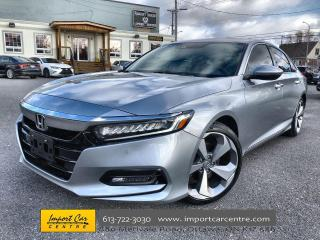Used 2018 Honda Accord Touring LEATHER  ROOF  NAVI  BLIS  HTD SEATS  BACK for sale in Ottawa, ON