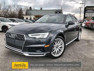 Used 2017 Audi A4 Allroad 2.0T Technik LEATHER  PANO ROOF  B&O SOUND  NAVI for sale in Ottawa, ON
