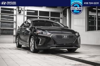 Used 2018 Hyundai Ioniq Hybrid Limited Hatchback chez Rimouski Hyundai for sale in Rimouski, QC