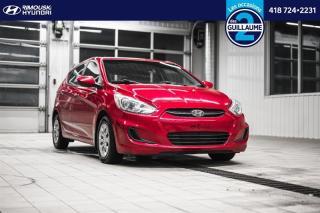 Used 2015 Hyundai Accent LE chez Rimouski Hyundai for sale in Rimouski, QC