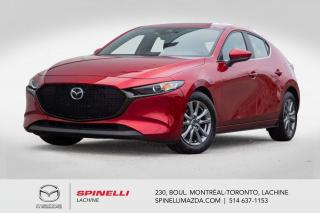 Used 2019 Mazda MAZDA3 Sport GS Cuir Toit Ouvrant Apple CarPlay Androit Auto Mazda 3 GS Sport 2019, LP pack for sale in Lachine, QC