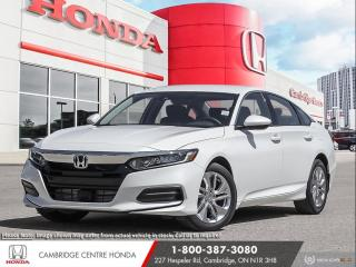 New 2020 Honda Accord LX 1.5T HONDA SENSING TECHNOLOGIES | REARVIEW CAMERA | APPLE CARPLAY™ & ANDROID AUTO™ for sale in Cambridge, ON