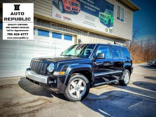 Used 2010 Jeep Patriot LIMITED for sale in Orillia, ON