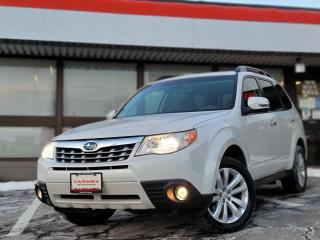 Used 2012 Subaru Forester 2.5X Limited Package Leather | Pano Roof | Heated Seats for sale in Waterloo, ON