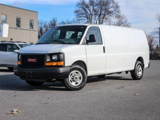 Used 2016 GMC Savana EXTENDED CARGO, 4.8L V8, 6-SPD AUTO, FRONT AIR, PWR WINDOWS AND LOCKS. for sale in Ottawa, ON