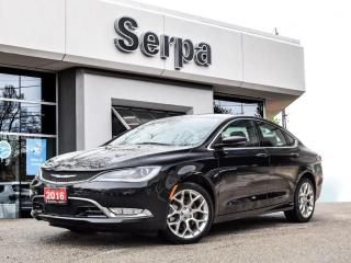 Used 2016 Chrysler 200 C |NAV|PANOROOF|AWD|BSPOT|HID|LUXGROUP| for sale in Toronto, ON