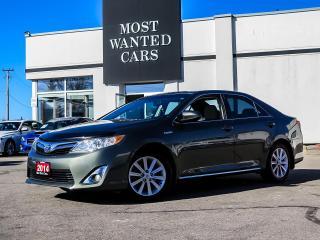 Used 2014 Toyota Camry HYBRID XLE|HYBRID|NAV|CAMERA|TOUCHSREEN|17