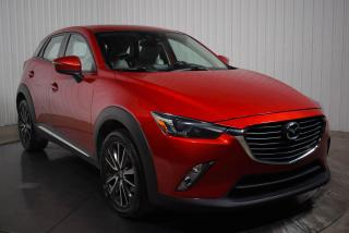 Used 2016 Mazda CX-3 GT AWD CUIR/SUEDE TOIT NAV  MAGS for sale in St-Hubert, QC
