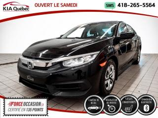 Used 2016 Honda Civic LX* A/C* SIEGES CHAUFFANTS* CAMERA* for sale in Québec, QC