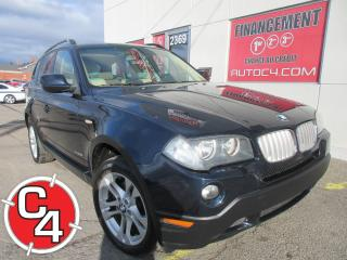 Used 2010 BMW X3 AWD CUIR TOIT MAGS for sale in St-Jérôme, QC