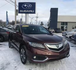 Used 2017 Acura RDX Groupe élite 4 portes à traction intégra for sale in Victoriaville, QC