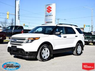 Used 2014 Ford Explorer Base 4x4 ~7 Passenger ~3.5L V6 ~ ONLY 90,000 KM! for sale in Barrie, ON