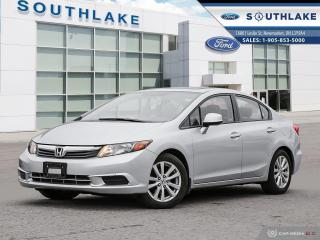 Used 2012 Honda Civic EX-L LEATHER|MOONROOF| for sale in Newmarket, ON