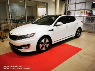 Used 2013 Kia Optima Hybrid Berline 4 portes Hybride Premium for sale in Beauport, QC