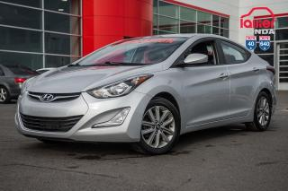 Used 2016 Hyundai Elantra Allure sport/GARANTIE PROLONGEE DISPONIBLE* AIR CLIMATISE, MAG, GROUPE ELECTRIQUE ET BEAUCOUP PLUS.. for sale in Terrebonne, QC