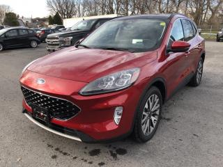 New 2020 Ford Escape Titanium TITANIUM AWD for sale in Cornwall, ON