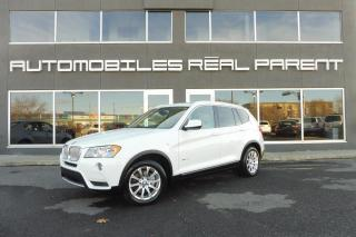 Used 2014 BMW X3 XDRIVE 28I - TOIT PANO - 8 PNEUS 8 ROUES - for sale in Québec, QC