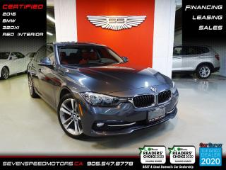 Used 2016 BMW 3 Series 320XI | RED INTERIOR | CERTIFIED | FINANCE @ 4.65% for sale in Oakville, ON