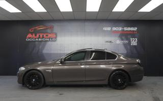 Used 2011 BMW 5 Series 535i XDRIVE AWD CUIR TOIT GPS NAV CAMERA 70 265 KM for sale in Lévis, QC