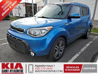 Used 2016 Kia Soul SX LUXURY ** NAVI / CUIR / TOIT for sale in St-Hyacinthe, QC