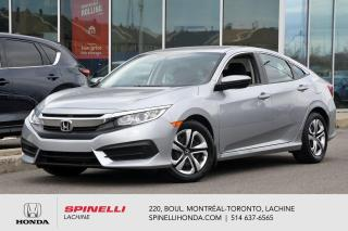 Used 2017 Honda Civic LX AUTO CRUISE BLUETOOTH AUTO CRUISE BLUETOOTH for sale in Lachine, QC