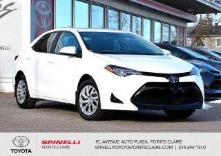 Used 2018 Toyota Corolla LE for sale in Pointe-Claire, QC