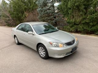 Used 2005 Toyota Camry LE - 1 LOCAL SENIOR OWNER! for sale in Toronto, ON