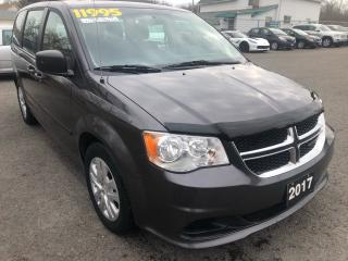 Used 2017 Dodge Grand Caravan CANADA VALUE PACKAGE for sale in St Catharines, ON