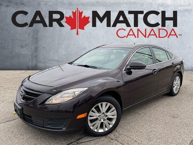 2010 Mazda MAZDA6 GS / AUTO / ALLOY WHEELS