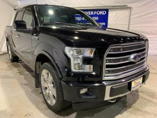 Used 2017 Ford F-150 Limited  for sale in Peace River, AB