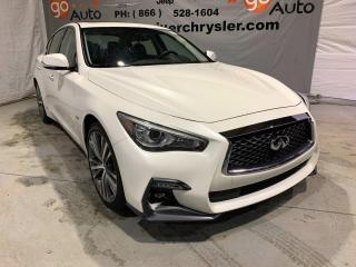 Used 2019 Infiniti Q50 3.0t Signature Edition for sale in Peace River, AB