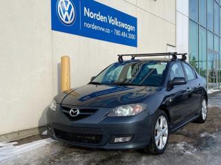 Used 2009 Mazda MAZDA3 GT AUTO - LEATHER / SUNROOF / ALLOYS for sale in Edmonton, AB
