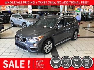Used 2019 BMW X1 xDrive28i - Nav / Pano Sunroof / Leather / No Dealer Fees for sale in Richmond, BC