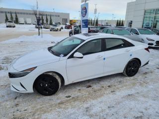New 2021 Hyundai Elantra PREFFERED W TECH: BLUELINK/WIRELESS APPLE CARPLAY/SUNROOF/SAFETY PKG for sale in Edmonton, AB