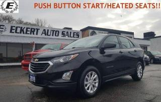Used 2018 Chevrolet Equinox LS/REVERSE CAMERA/PUSH BUTTON START!! for sale in Barrie, ON
