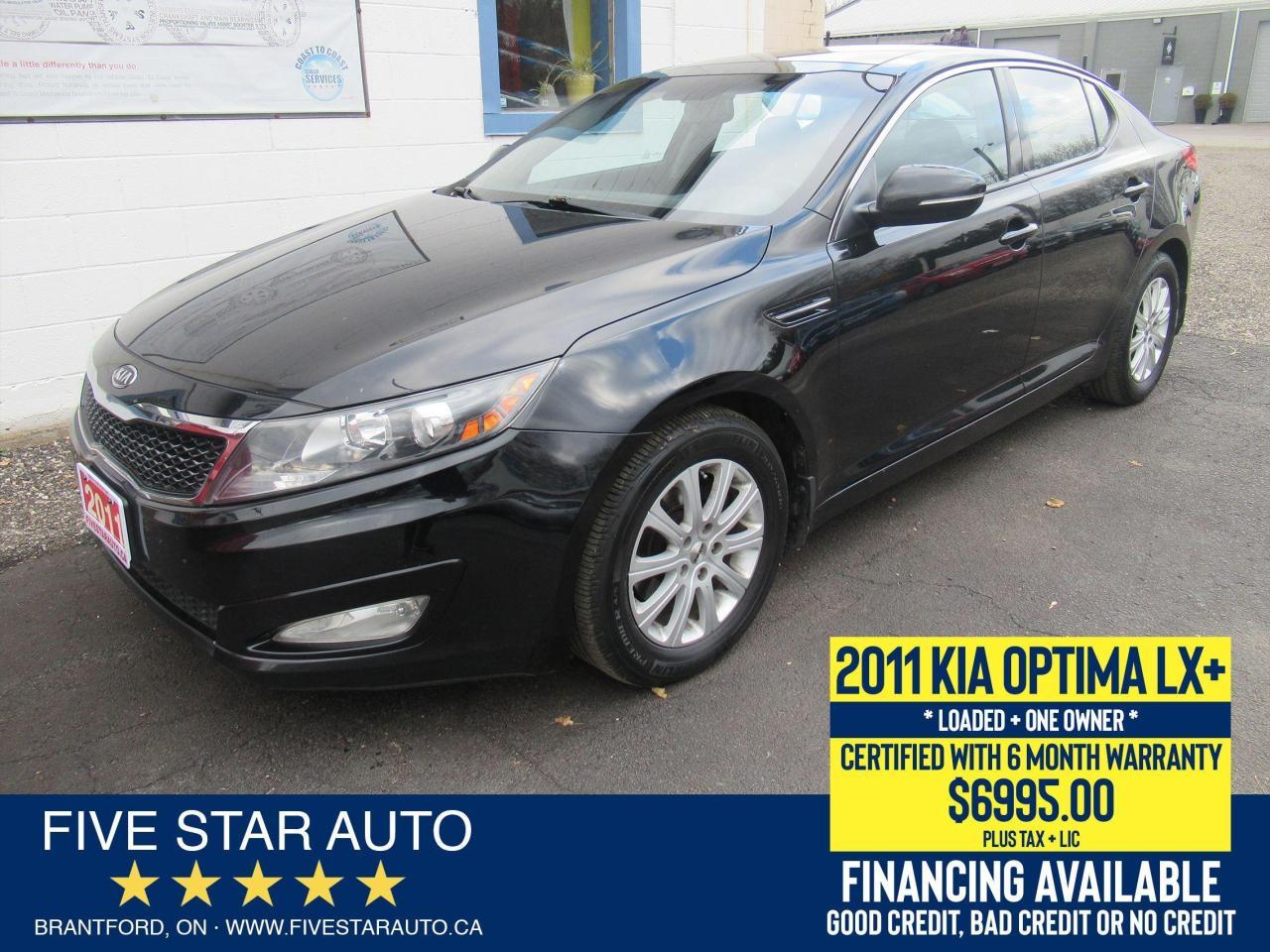 2011 Kia Optima LX+ *One Owner* Certified w/ 6 Month Warranty