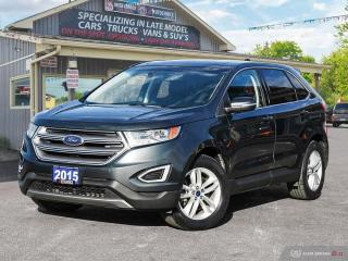 Used 2015 Ford Edge SEL,AWD,ONE OWNER,REMOTE START,NAVI,LEATHER INT for sale in Orillia, ON