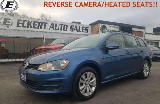 Used 2016 Volkswagen Golf SportWagen S/REVERSE CAMERA/HEATED SEATS!! for sale in Barrie, ON