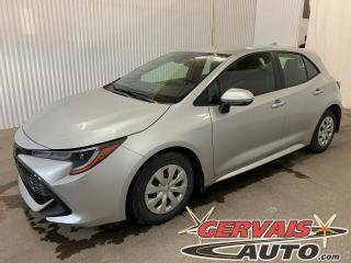 Used 2019 Toyota Corolla Hatchback Caméra A/C Bluetooth *Transmission Automatique* for sale in Trois-Rivières, QC