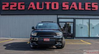 Used 2020 Dodge Durango GT|AWD|ACCIDENT FREE|BACKUP CAM|LEATHER for sale in Brampton, ON